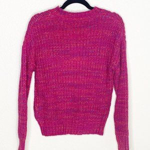 Band of Gypsies Sweaters - Band of Gypsies Glacee Ribbed Mock Neck Sweater